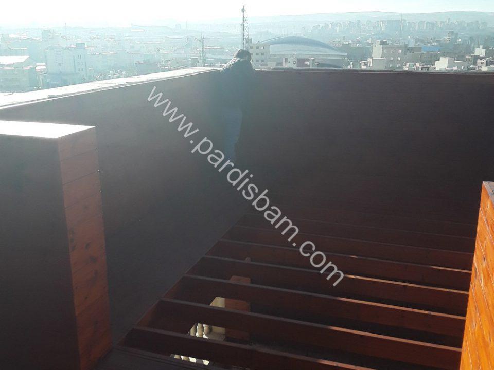 پروژه روف گاردن اردبیل