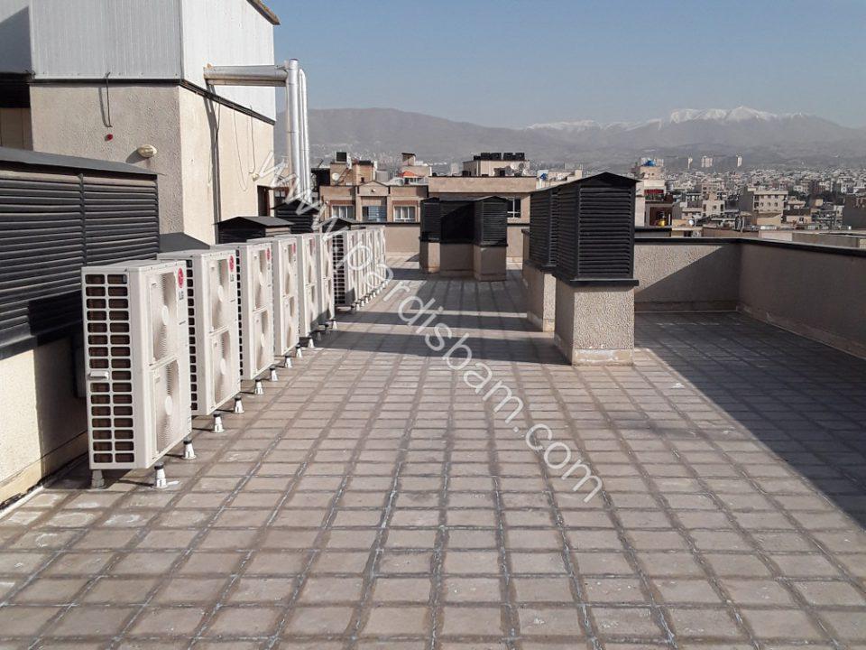 پروژه عایق رطوبتی بی رنگ تهرانپارس